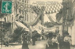 69 LYON RHONE  PONTCHARRA TURDINE CONGRES TARARE - Pontcharra-sur-Turdine