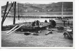"""Andenelle - Photo - Ecluse D´Andenelle - Pont - """"Réparation D´une Porte"""" - Année:1941 - Photo: 10/15cm. - Andenne"""