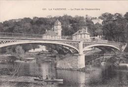 Cp , 94 , LA VARENNE , Le Pont  De Chennevières - France