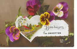 Cahottes - Bons Baisers Des Cahottes - Ed: E.M. 561 Circulé:1920 - Etat: Voir Scans. - Flémalle