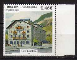 Andorra.French Andorra.2002 National Heritage.Mi - 588.MNH - French Andorra