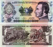 Honduras 5 Lempiras 2004 Pick85d UNC - Honduras