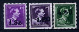 724AA/724CC MNH** 1946 - Leopold III Type Open Kraag - 1946 -10%