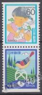 Japan - Japon 1986 Yvert 1586b-87b, Letter Writing Day - MNH - 1926-89 Emperor Hirohito (Showa Era)
