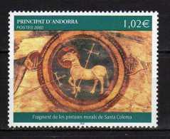 Andorra.French Andorra.2002 Art.Mi - 595.MNH - French Andorra