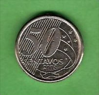 K512 Brasil 50 Centavos 2005 Rio Branco - Brasile