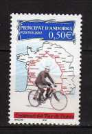 Andorra.French Andorra.2003 The 100th Anniversary Of The Tour De France.Sport/Cycling.Mi - 603.MNH - French Andorra
