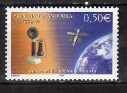 Andorra.French Andorra. 2003 The 100th Anniversary Of Telecomminication In Andorre.Mi - 607.MNH - Neufs