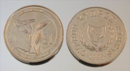 Chypre 1 Pound 1995 Bull FAO FAO Animal - Chypre
