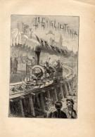Poesia LA GUIGLIOTTINA A VAPORE Di GIUSEPPE GIUSTI Con 2 FOTOINCISIONI ORIGINALI 1833 - OTTIMO STATO - Poesie