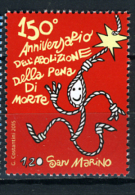 2015 - SAN MARINO - SAINT-MARIN - 150° Anniv Della Abolizione Pena Di Morte A San MARINO  -  NH - (**) - New Mint - Saint-Marin