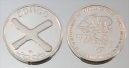 Congo (Brazzaville) 1500 CFA 2005 Argent Pur .999 Monnaie Primitive - Congo (République Démocratique 1998)