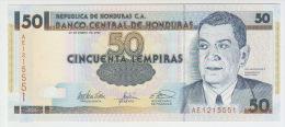 Honduras 50 Lempiras 2003 Pick 88b UNC - Honduras