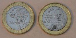 Congo (Brazzaville) 4500 CFA 2007 Bimetal Pape - Congo (Democratic Republic 1998)