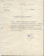 Occupation/Par Ordre Des Autorités Allemandes/Réquisition De Voiture/Préfecture Eure/Burriez/Garennes /1940     OL62 - Army & War