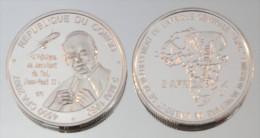 Congo (Brazzaville) 4500 CFA 2007 Argent Pur .999 Pape - Congo (Democratic Republic 1998)