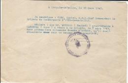 Occupation//Remise à La Gendarmerie De Deux Prisonniers Allemands évadés/Burriez/Garennes/Ivry La Bataille/1945    OL63 - Militaria