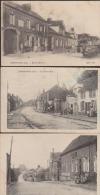 Lot 3 CPA:Therdonne:Grande-Rue Et Rue De Clermont - Autres Communes