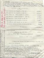 Libération/ Echange De Billets De Banque Contre Un Bon De Libération/Lecoeur/Ivry La Bataille/Percepteur/1945    OL65 - Unclassified