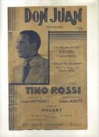 -  DON JUAN . PARTITION DE CHANSON DE TINO ROSSI . - Partitions Musicales Anciennes