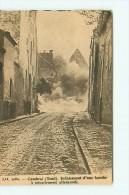 CAMBRAI / ECLATEMENT D' UNE BOMBE A RETARDEMENT ALLEMANDE / GUERRE - Cambrai