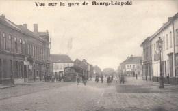 Vue Sur La Gare De Bourg-Léopod - Leopoldsburg