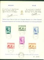 België/Belgique 1940 Muziekstichting Kon. Elisabeth/Fondation Musicale De La Reine Elisabeth 532/37 - FDC
