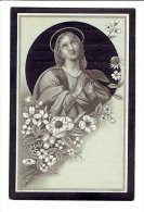 353 ( 2 Scans ) Michael VAN BULCK Geb Berchem En Er Overleden 1894 - Devotion Images