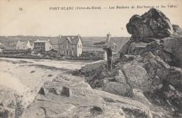 CPA - Port Blanc - Les Rochers De Roc'hannic Et Les Villas - Other Municipalities