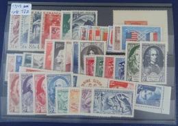 France 1949 Année Complète Neuf Luxe ** Cote 179 Euros 823 à 862 - 1940-1949