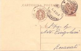 CARTOLINA POSTALE  TIPO MICHETTI - 1932 - Storia Postale