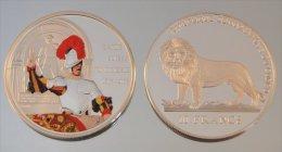 Congo RDC 10 Francs 2006 Swiss Guards Argent Soldat - Congo (Repubblica Democratica 1998)