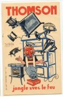 PUBLICITE - THOMSON - JONGLE AVEC LE FEU - Werbepostkarten