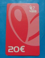 RARE KOSOVO (SERBIA) PREPAID PHONE CARD 20 EURO USED, TILL KNOW ONLY 2 FOUND. EXCELLENT QUALITY - Kosovo