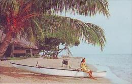 Maharepa       7        La Jolie Plage De L'Hotel Bali Hai à Maharepa.Moorea - Tahiti