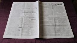 CAMPAGNE D´AFRIQUE - RAPPORT DU MARECHAL VALEE - PRISE DE MILIANAH - ABD-el-KADER -JOURNAL DE TOULOUSE DE 1840. - Journaux - Quotidiens