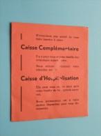AMICALE De L'Armée Belge / Anno 1965/66/67 ( Boon Denis / Zie Foto´s Voor Details) ! - Documents
