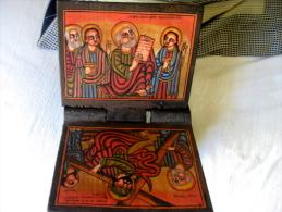 Ethiopie: Lutrin Peint - Unclassified