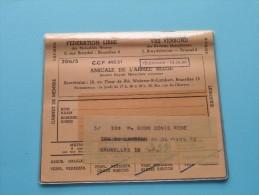 AMICALE De L´Armée Belge  Vrij Verbond / Anno 1969/70/71/72/73 ( Boon Denis / Zie Foto´s Voor Details) ! - Documents