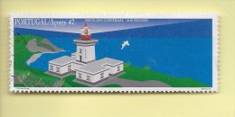 TIMBRES - STAMPS - PORTUGAL - 1996 - PHARES DES AÇORES - PHARE DES CONTENDAS - ÎLE TERCEIRA - TIMBRE OBLITÉRÉ - Gebraucht