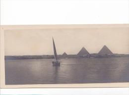 25687 Egypte Le Caire -Cairo Pyramide During Innondation -N°69 Scortzis - Le Caire