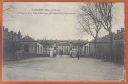 Carte Postale 22. Guingamp Caserne De La Tour D'Auvergne 48è Régiment D'Infanterie   Trés Beau Plan - Guingamp