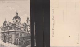 4544) GENOVA CHIESA DELL'IMMACOLATA VIA ASSAROTTI NON VIAGGIATA 1910 CIRCA BINARI TRAM - Genova (Genoa)