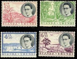 Ruanda-Urundi Scott 133-36  (Roi Baudouin) [**] - Rwanda