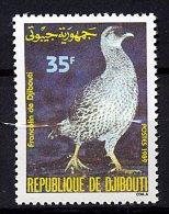 Djibouti **  N° 654 - Le Francolin - Gibuti (1977-...)