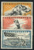 TCHECOSLOVAQUIE ( POSTE ) : Y&T N°  1089/1091  TIMBRES  NEUFS  SANS  TRACE  DE  CHARNIERE , A  VOIR . - Tschechoslowakei/CSSR