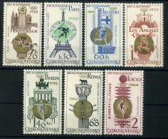 TCHECOSLOVAQUIE ( POSTE ) : Y&T N°  1388/1394  TIMBRES  NEUFS  SANS  TRACE  DE  CHARNIERE , A  VOIR . - Tschechoslowakei/CSSR