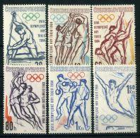 TCHECOSLOVAQUIE ( POSTE ) : Y&T N°  1300/1305  TIMBRES  NEUFS  SANS  TRACE  DE  CHARNIERE , A  VOIR . - Czechoslovakia