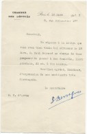 Convocation à Un Rendez-vous / Chambre Des Députés / Paul REYNAUD/Paris /1935   VPN38 - Non Classés