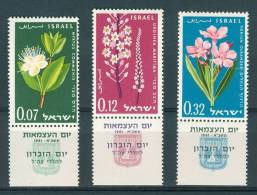 Israel - 1961, Michel/Philex No. : 237-239,  - MNH - *** - Full Tab - Israel